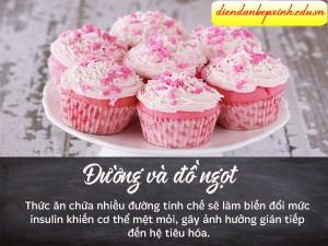Tránh đường và đồ ngọt
